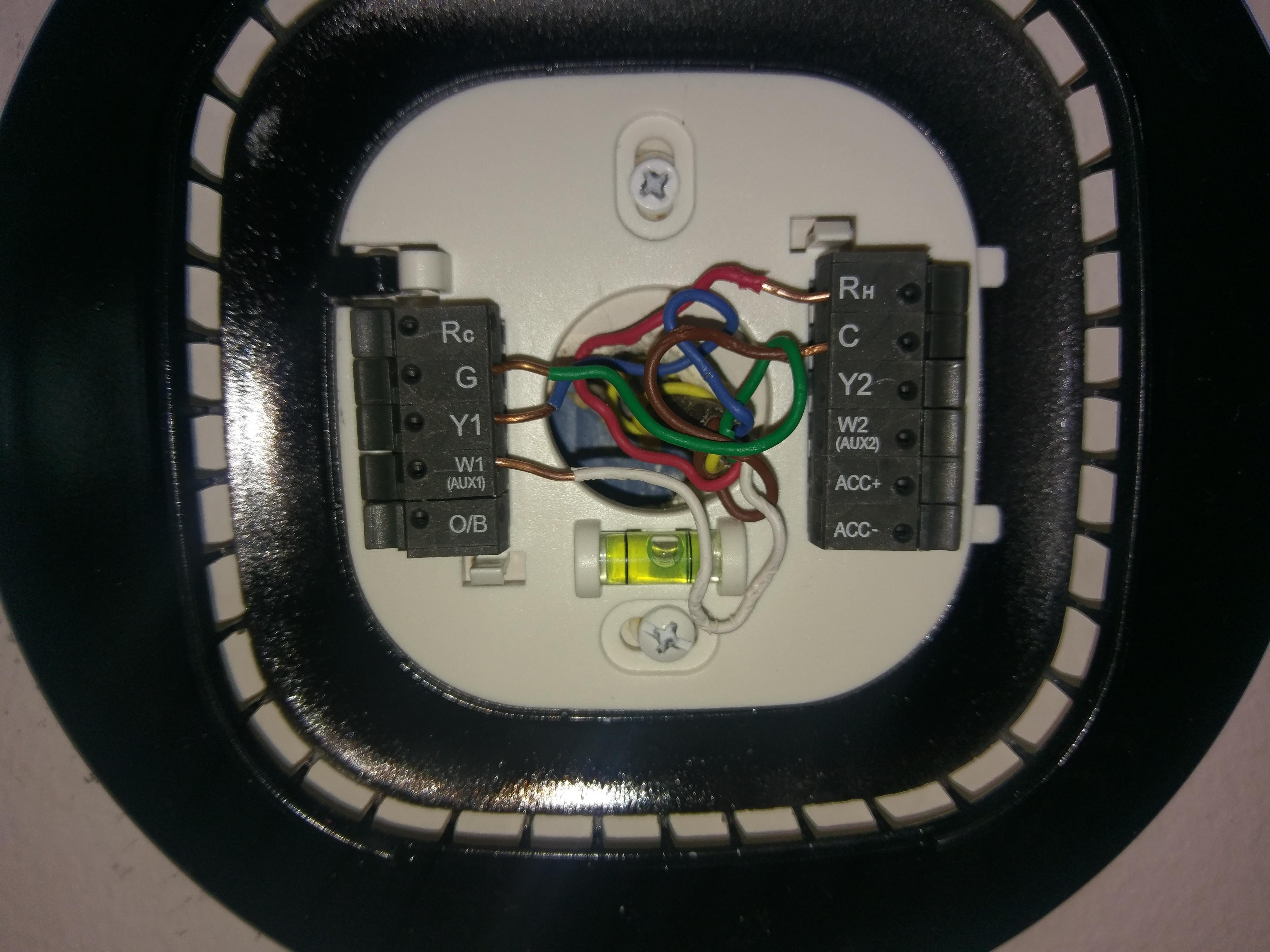Ecobee3 Heating Rc Vs Rh Ecobee Rheem Furnace Blower Wiring Diagram